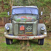Old military Volvo truck, Sweden
