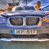BMW X1 on ferry between Vaxholm and Rindö, Sweden